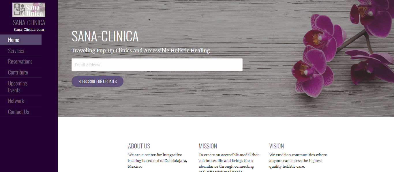 Sana Clinica (Website)